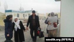 На таджикско-узбекской границе