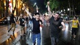 Protesti u Tibilisiju, 23. juni