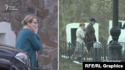 Також знімальна група протягом кількох днів фіксувала на території міністерства жінку, здалеку схожу на ексчиновницю цього ж відомства