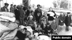 Кримськотатарські родини, вислані з Білогірського району Кримської області, червень 1969 року