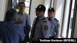 Ə.Kərimli Bakı Şəhər Baş Polis İdarəsində. 2012