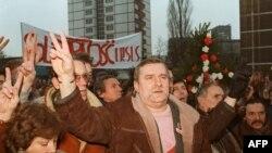 Politički trijumf Leha Valense na antikomunističkim protestima u Gdanjsku 1988. godine