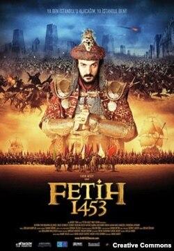 Афиша кинофильма Fetih 1453, посвященного взятию Константинополя войском султана Мехмеда II