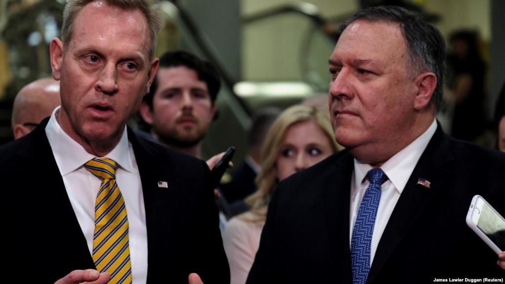 US Secretary of Defense, Patrick Shanahan breaks through tensions in Iran