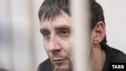 Заур Дадаев, один из обвиняемых в причастности к убийству российского оппозиционера Бориса Немцова.