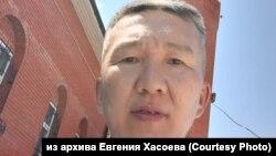 Правозащитник Евгений Хасоев, архивное фото