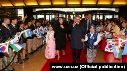 Визит президента Шавката Мирзияева в Южную Корею.