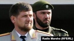 Raman Kadyrow we Magomed Daudow.