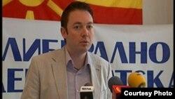 Горан Милевски, претседател на Либерално-демократската партија.