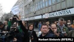 Protest građana u Novom Sadu