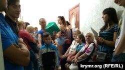 Архівне фото: дитяча поліклініка Красногвардійської районної лікарні, Крим