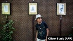 Desetogodišni Farhad Nuri u izbjegličkom centru Krnjača