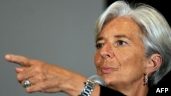 French Finance Minister Christine Lagarde is thought to be the front-runner to replace Dominique Strauss-Kahn at the helm of the IMF.