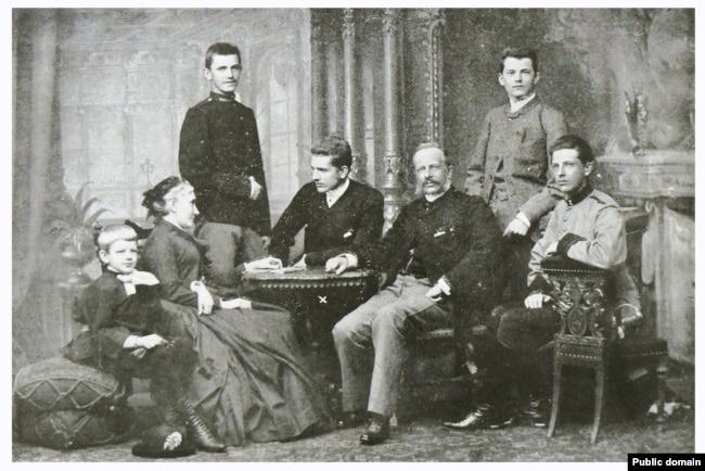 Батьки митрополита Андрея Шептицького і його брати