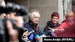 Ivan Tasovac u razgovoru sa novinarima, foto: Vesna Anđić