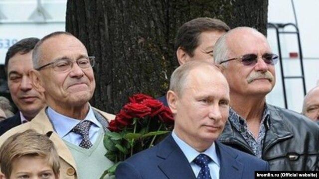 Михалков, Кончаловский и Путин