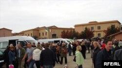 На українському базарі в Римі