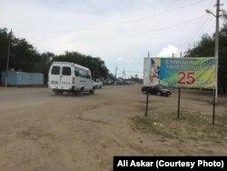 Шұбарши көшесі. Ақтөбе облысы, 23 маусым 2016 жыл.