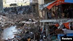 Взрыв в Эль-Мансуре