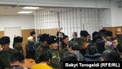 На оглашении приговора по делу о коррупции при модернизации Бишкекской ТЭЦ. 6 декабря 2019 года.