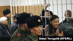 Сапар Исаков в зале суда, 6 декабря 2019 г.