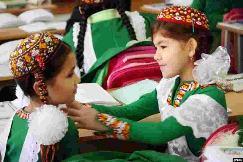 Aşgabatdaky türkmen - rus mekdebi #21