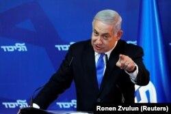 Нынешний премьер-министр Израиля Биньямин Нетаньяху