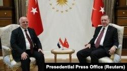 Prezident Recep Tayyip Erdoğan və baş nazir Haidar al-Abadi oktyabrın 25-də Ankarada görüşüblər