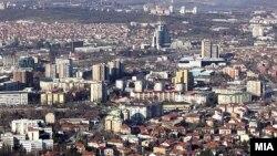 Скопје.