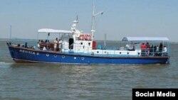 Корабель «Іволга», архівне фото