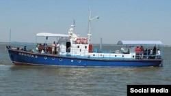 Катер «Волга», архивное фото