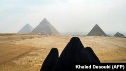 Giza, Egipat, ilustracija