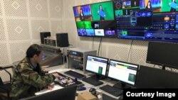 КТРК Спорт телеканалынын студиясы