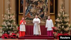 Рождественское послание Франциска