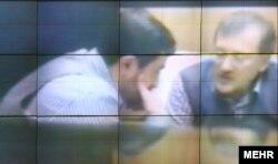 نمایی از ویدئوی محمود احمدینژاد در مورد دیدار سعید مرتضوی با فاضل لاریجانی