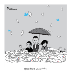 Georgia -- i-llustration Letters rain usa
