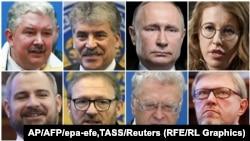 Русия президенты вазифасына намзәтләр
