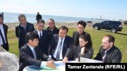 Китайские инвесторы считались главными претендентами на победу в конкурсе на строительство порта в Анаклии