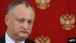 Presidenti moldav, Igor Dodon