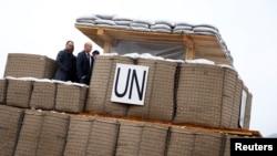 Колишня база ООН поблизу Сребрениці, Боснія і Герцеговина, лютий 2017 року