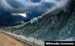 """Компьютерная модель разрушительного """"рождественского"""" цунами в Юго-Восточной Азии 2004 года"""