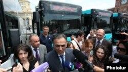 Министр транспорта и связи Гагик Бегларян (архив)