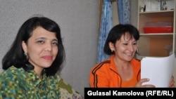 O'zbekistonlik telejurnalistlar Malohat Eshonqulova va Saodat Omonova