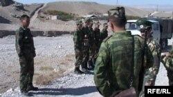 Иллюстративное фото. Кыргызские пограничники.