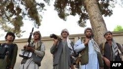 Құндыз уәлаятындағы ауған қауіпсіздік күштері. Ауғанстан, мамыр 2015 жыл.