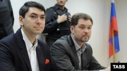 """Заместитель исполнительного директора """"Голоса"""" Григорий Мельконьянц на суде"""