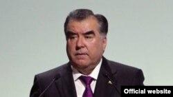 Таџикистанскиот претседател Емомали Рахмон