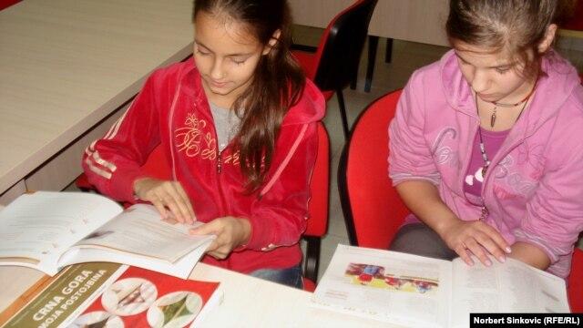 Škola na crnogorskom u Lovćencu