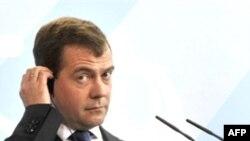 Presidenti rus Medvedev