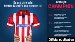 Azerbaijan -- Do you know who Atlético Madrid's real sponsor is?